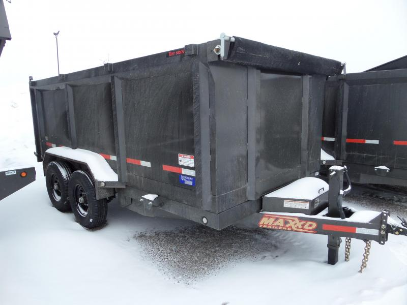 "2019 MAXXD D8X - 83"" x 14' Heavy Duty Dump Trailer"