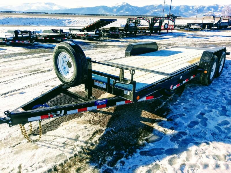 2018 PJ Trailers 6 in. Channel Equipment Tilt 20'