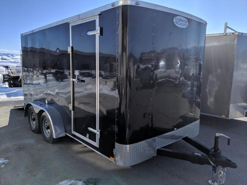 2019 Continental Cargo Rambler 7 x 14 Enclosed Cargo Trailer