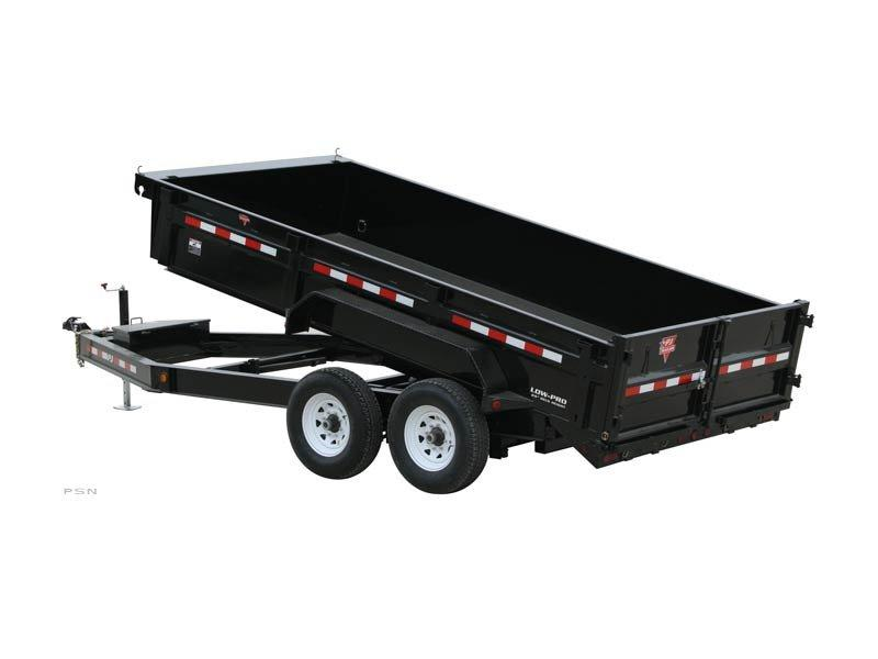 "2019 PJ Trailers 83"" x 16' Low Pro Dump (DL) Dump Trailer"