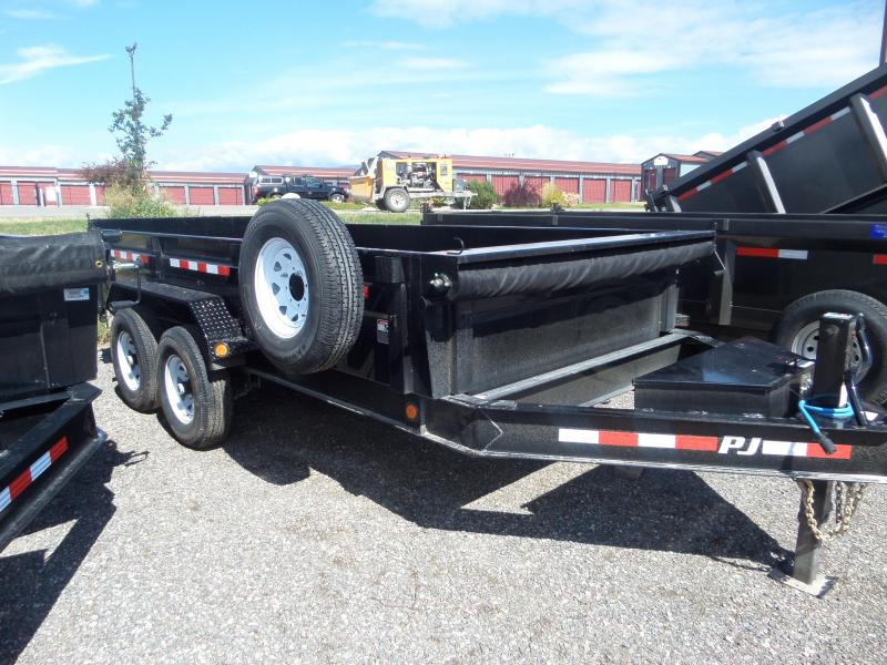 "2019 PJ Trailers Low Pro Dump (DL) 83"" x 14'"