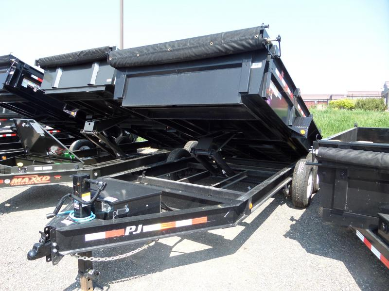 2020 PJ Trailers 83 Low Pro Dump (DL) Dump Trailer