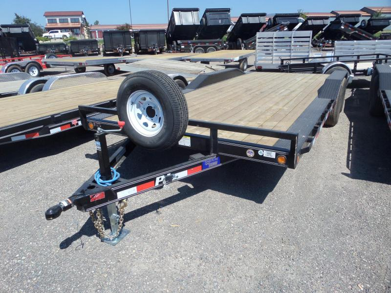 "2019 PJ Trailers 5"" Channel Buggy Hauler 20'"