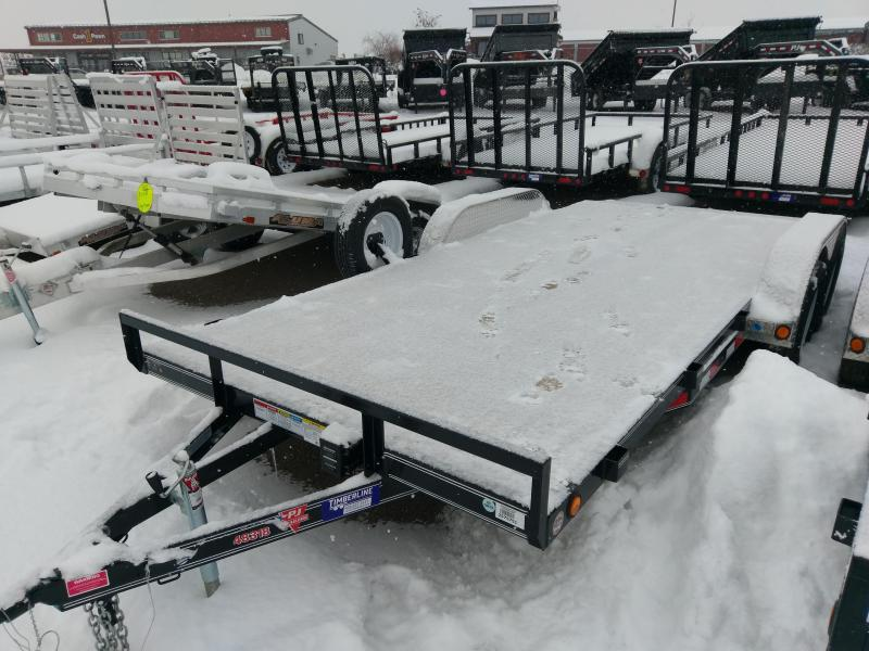 "2018 PJ Trailers 4"" Channel 18' Car Hauler"