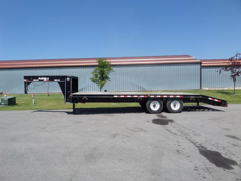 1996 Diamond D GN Flatbed 20' Trailer
