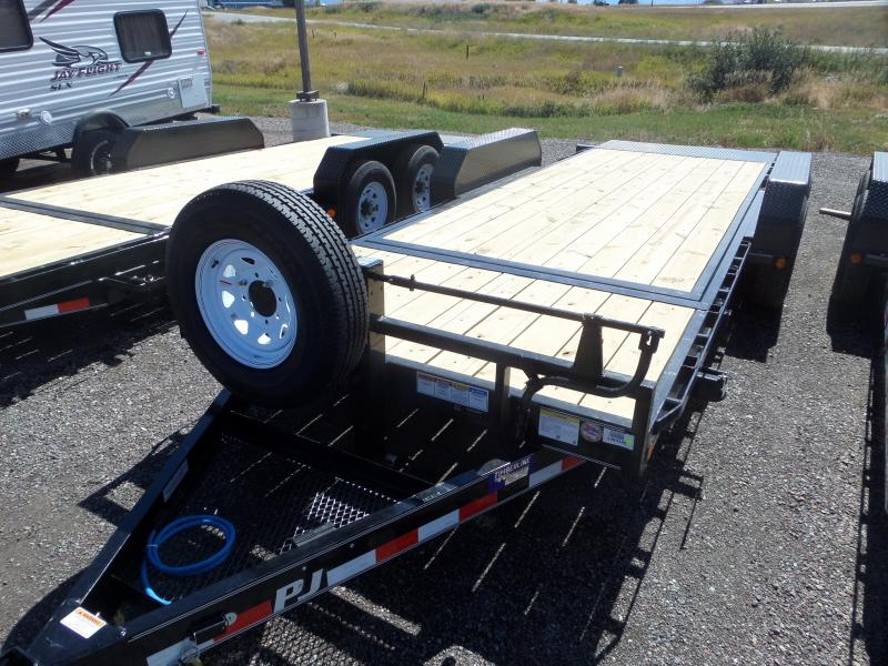 "2019 PJ Trailers 6"" Channel Equipment Tilt (T6) 20'"