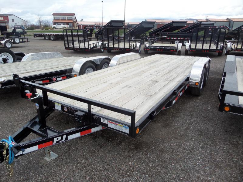 2017 PJ Trailers 5 in. Channel Equipment (CE) Trailer