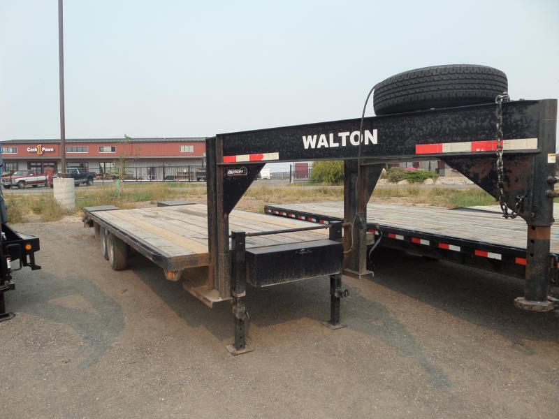 2011 Walton Trailers GN Flatbed Trailer