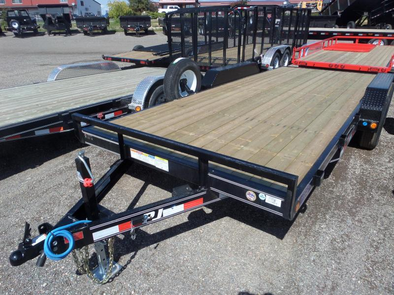 "2019 PJ Trailers 5"" Channel Equipment (CE) 18'"