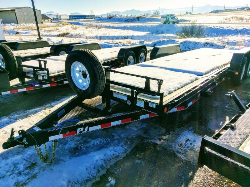 2018 PJ Trailers 6 in. Channel Equipment Tilt 22'