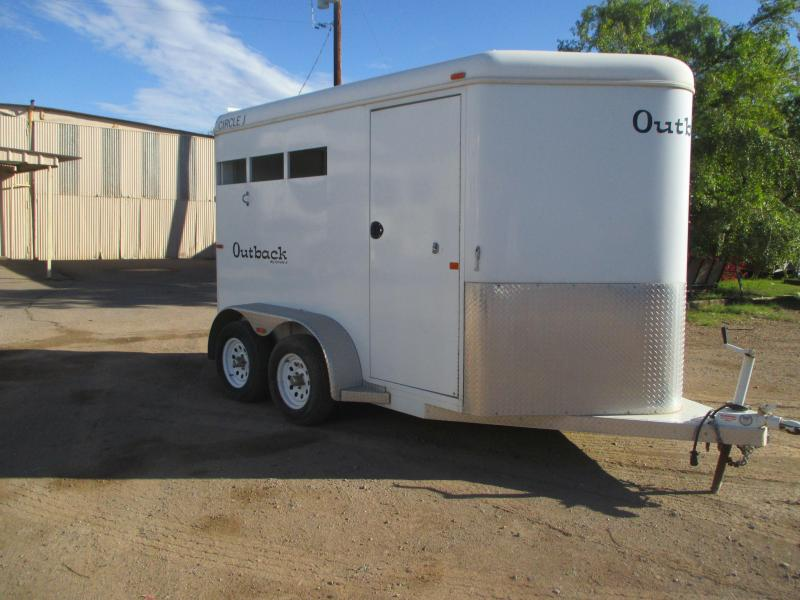 2005 Circle J Trailers OUTBACK 2H BP Horse Trailer