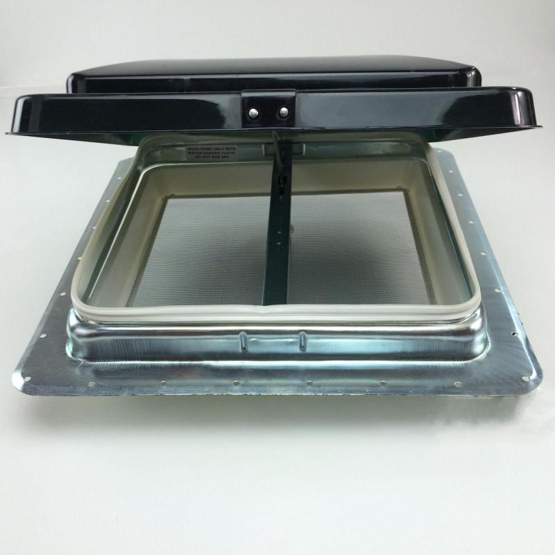 ventline ventadome trailer roof vent smoked or white - Trailer Roof Vent