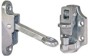 Aluminum 2 inch Door Holdback Hook & Keeper