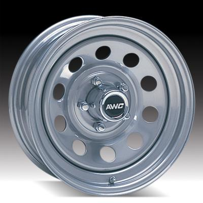 "TRAILER WHEEL 15"" GALVANIZED 6-5.5"" MOD"