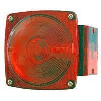Universal Combination Tail Light w/ License Light