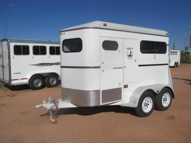 1997 Circle J Trailers Custom II Horse Trailer