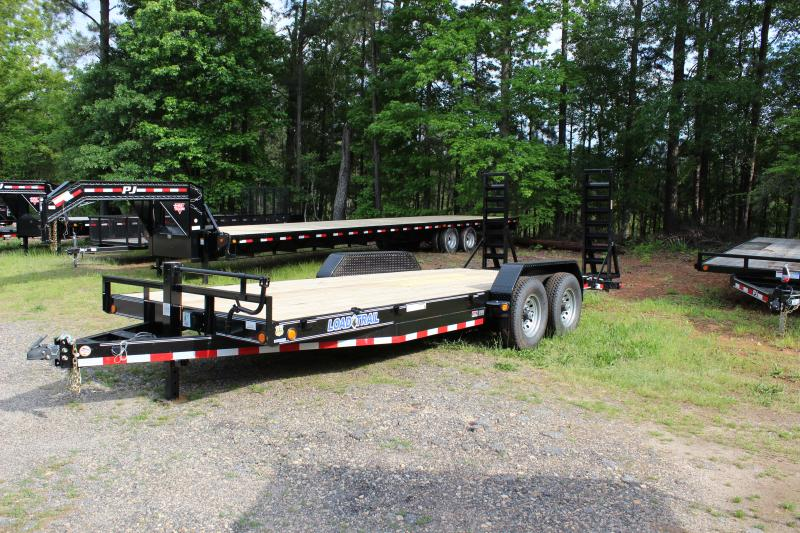 2014 Load Trail Load Trail 7 ton Equipment Trailer Car / Racing Trailer