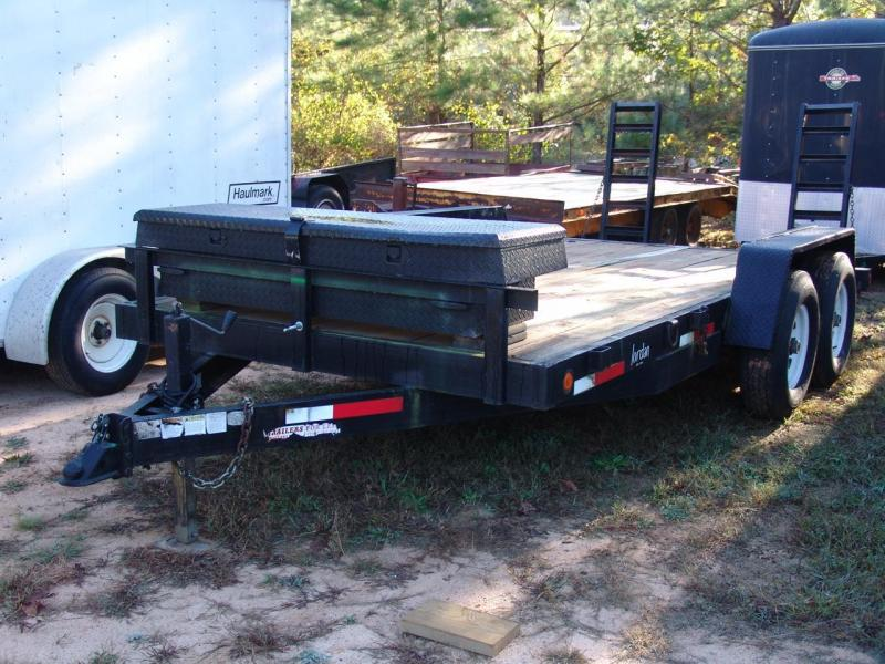 2001 Anderson Manufacturing 7X16 6 ton equipment trailer Equipment Trailers