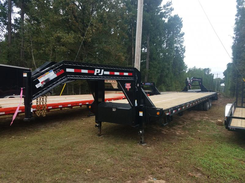 2018 PJ Trailers FD40 Flatbed Trailer