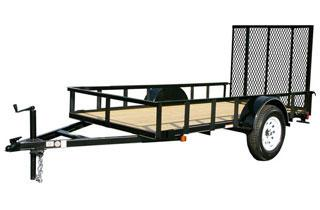 CARRY-ON 5X14 GW flatbed utility trailer
