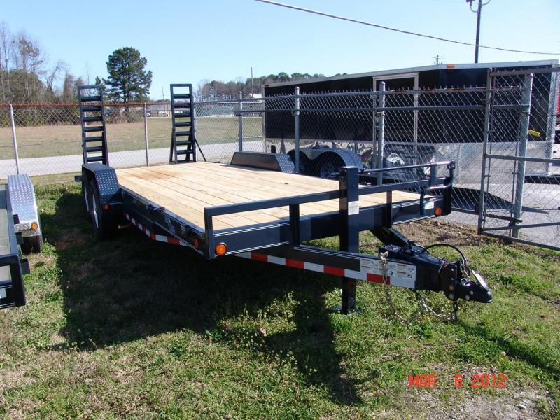 2014 Load Trail 20 Ft Load Trail Equipment Trailer #37405 Car / Racing Trailer