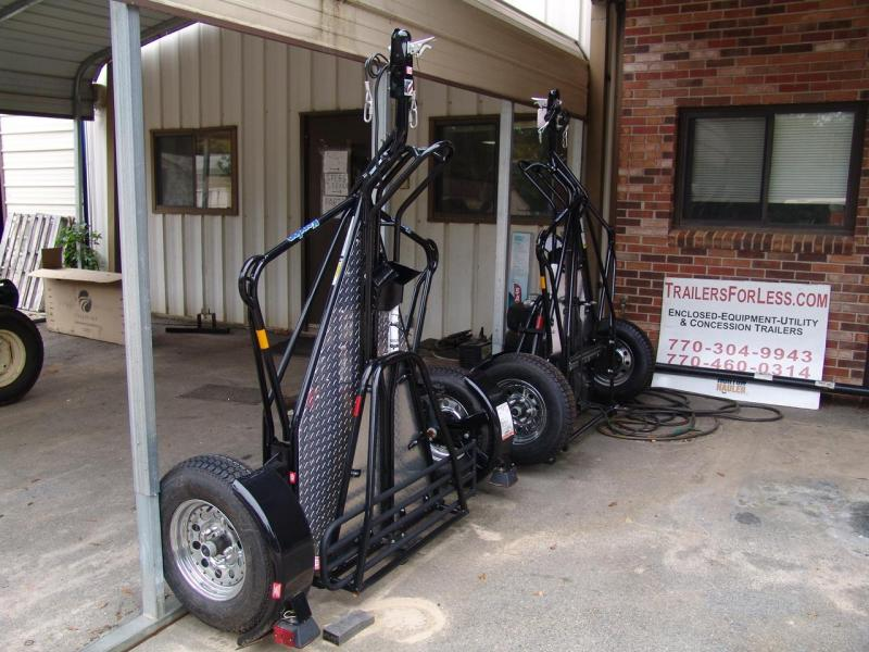 2013 Kendall Trailer Manufacturing single Motorcycle Trailer