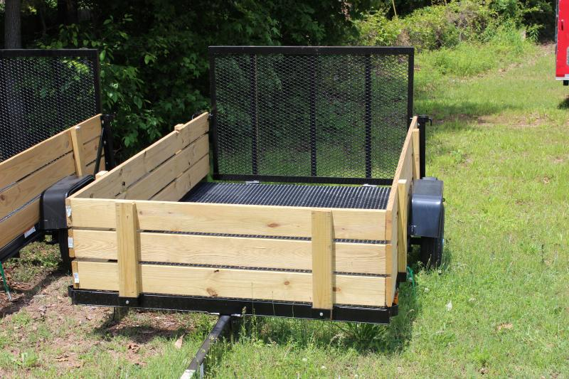 2014 Carry-On Carry-On  5x8 Landscaping Trailer with Woodsides Utility Trailer