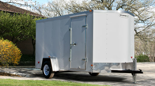 HAULMARK PPT 6X10 D2S enclosed cargo trailer