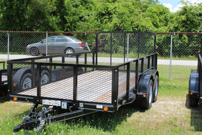 LOAD TRAIL 6X14 flatbed trailer with wood floor