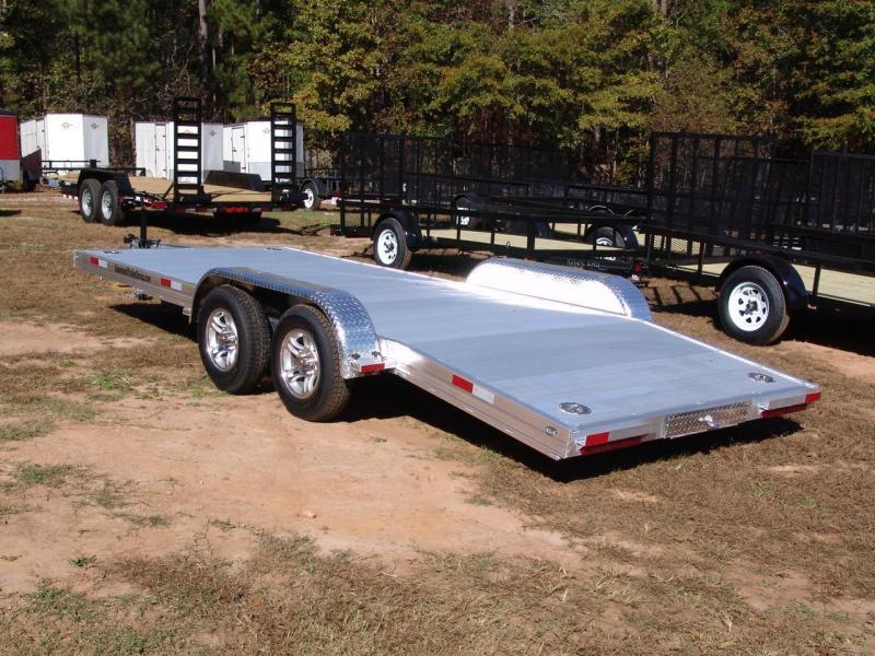 2016 ATG aluminum 7x18 Car / Racing Trailer