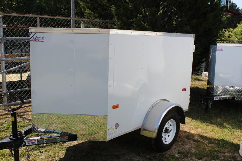 HORTON HY 4X6SA V-NOSE 4x6 enclosed cargo trailer