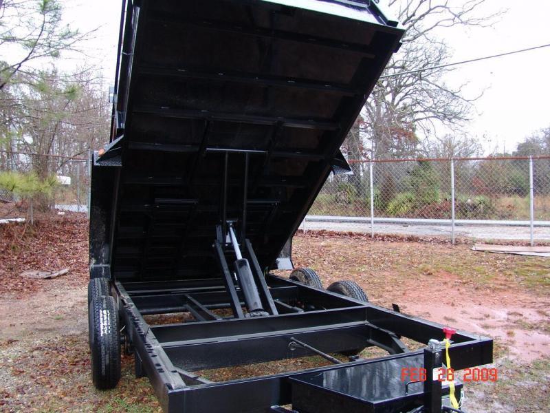 PJ TRAILER 14X83 DUMP VIN#4P5D71423C3000727 2-7000# AXLES SPLIT/SPREADER GATE TARP MOUNTING BRACKET