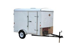 CARRY-ON Z 6X12 CGR enclosed trailer