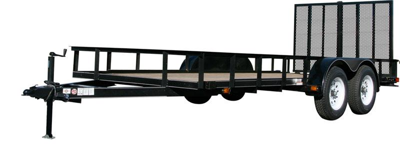 CARRY-ON 7X12 GW-HDX flatbed utility trailer
