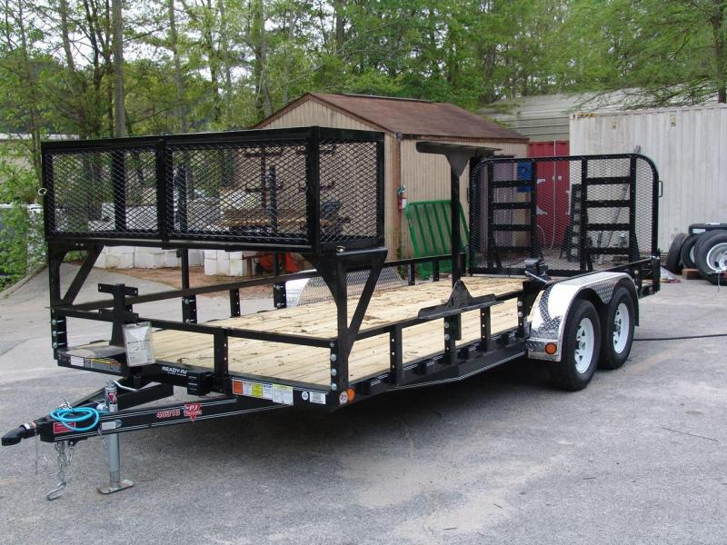 2017 PJ Trailers 83 in. Channel Utility (U8) Utility Trailer