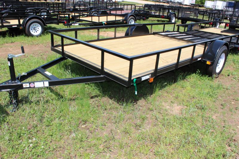 2013 Carry-On Carry-On 7x12 Landscaping Trailer Utility Trailer