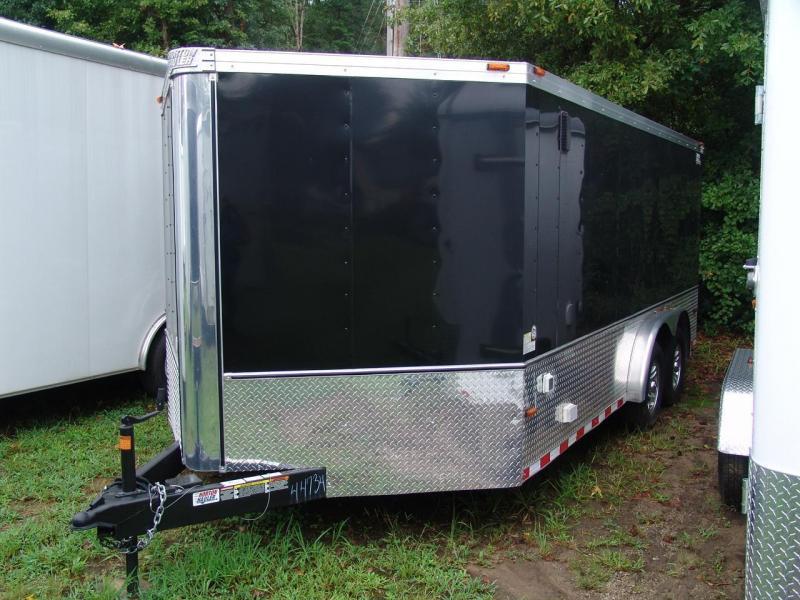 2012 Horton Trailers Hybrid Cargo / Enclosed Trailer