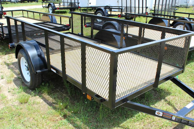 2014 Other Carry-On 5x10 Landscaping Trailer with Metal Mesh Sides Utility Trailer