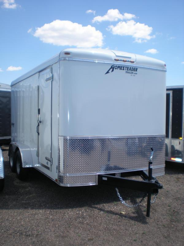 2019 Homesteader 7x14 Enclosed Cargo Trailer w/Ramp