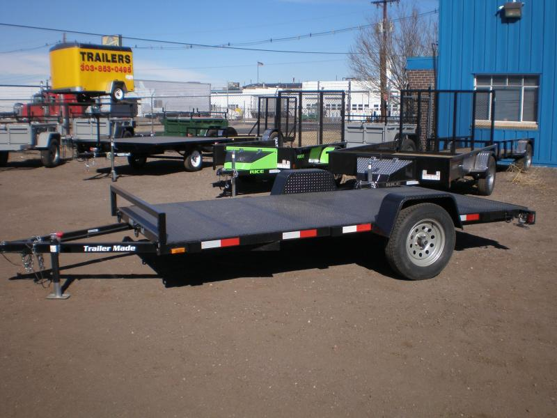 2016 Trailer Made 6x12 Utility Trailer w/ Ramps