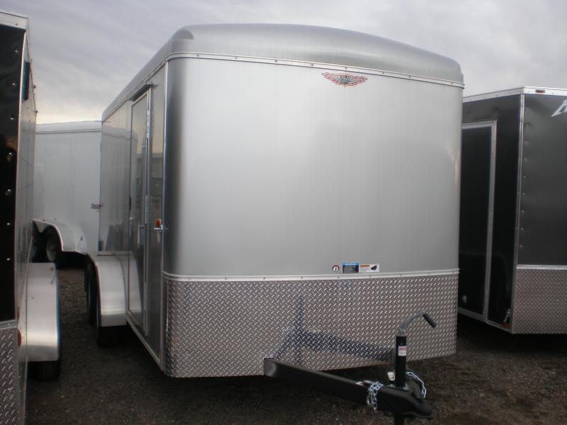2017 H&H 7x14 Enclosed Cargo Trailer Double Doors