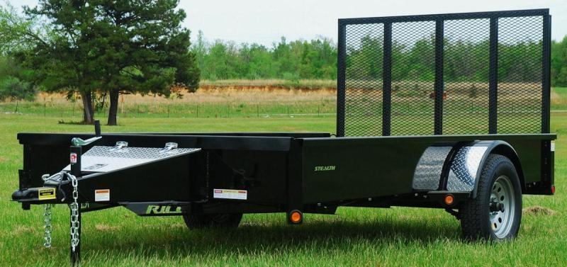 "2018 Rice ""Stealth"" 76x12 Utility Trailer"