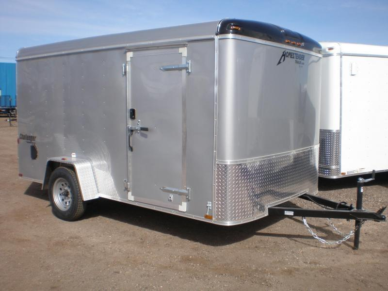 2018 Homesteader 7x12 Enclosed Cargo Trailer w/Brakes