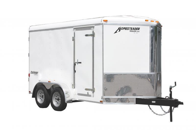2019 Homesteader 7x12 Enclosed Cargo Trailer V-Nose