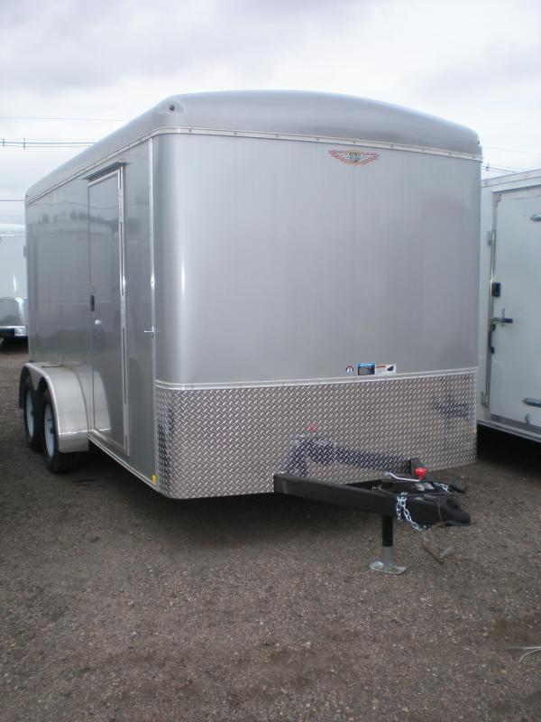 2017 H&H 7x14 Enclosed Cargo Trailer