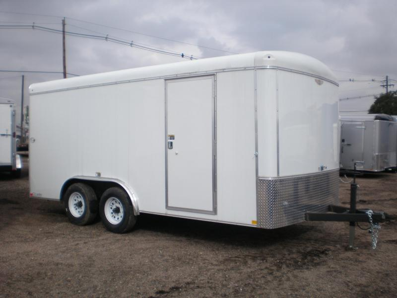 2017 H and H Trailer 8X16 Enclosed Cargo Trailer 10K