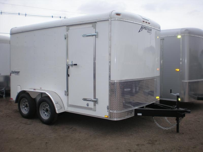 2018 Homesteader 7x12 Enclosed Cargo Trailer