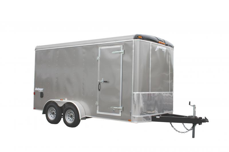 2018 Homesteader 7x14 Enclosed Cargo Trailer Double Doors