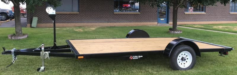 2017 7X12 Low Deck Raft Trailer