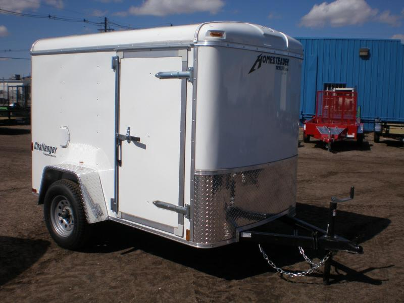 2019 Homesteader 5x8 Enclosed Cargo Trailer W/ Swing Door